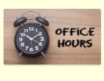 IJA Main Office Hours Summer