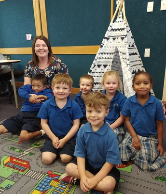 Room 1 with Mrs Anderson