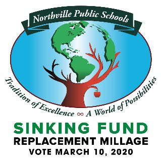 School families and community members can learn more about Northville Public Schools' March 2020 Sinking Fund Millage Replacement request  at Community Forums/PTA meetings