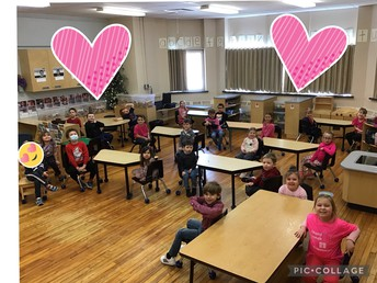 Pink Shirt Day in JK/SK!