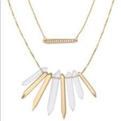 Rebel Cluster Necklace - Gold