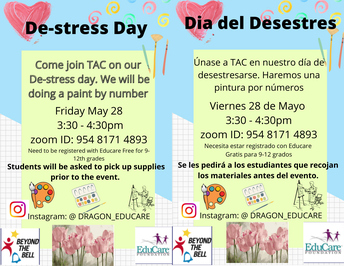 De-Stress Day!