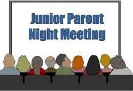 CVH Junior Parent Night