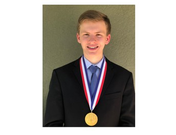 Congratulations to Alex Dyer, a senior at Newsome High, for being named a 2020 Presidential Scholar. The honor goes to just 161 high school seniors across the country. The scholars typically go to the White House to receive their medal, but because of Covid-19, Alex just received his in the mail!