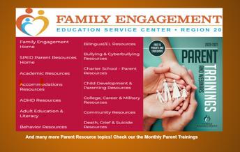 Region 20 Family Engagement