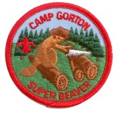 Camp Gorton Super Beaver Patch