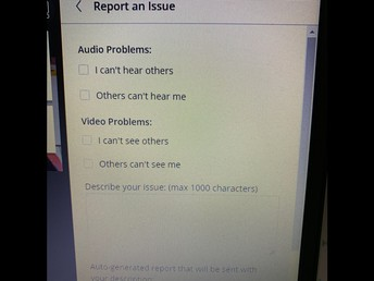 REPORT YOUR ISSUE