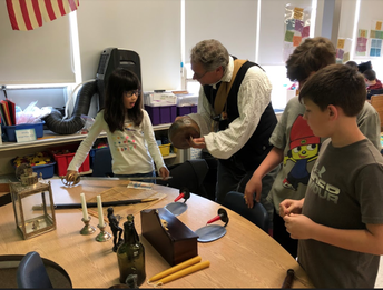 Mr. Fenn Visits 4th Grade