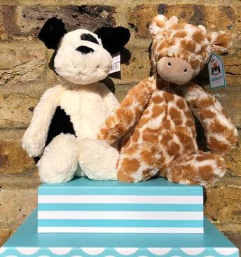 Medium Puppy & Medium Giraffe