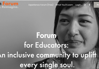 Online Forum Experience for Educator Well-Being