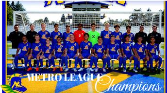 Boys Soccer Metro League Champions