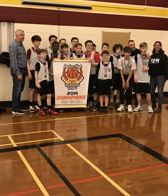 Grade 7 Boys Basketball