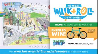2nd Annual Walk & Roll Art Contest