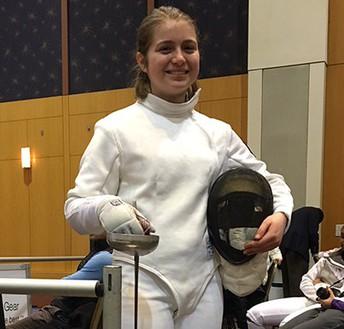 Cheltenham Freshman Competes in Fencing Junior Olympics
