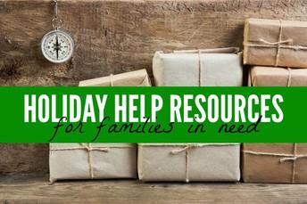 SHS-Family Thanksgiving/Christmas Needs