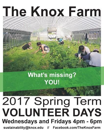 The Knox Farm Volunteering