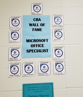 Students Certify as Word Experts