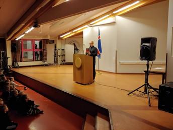 Ævar Benediktsson rithöfundur og vísindamaður