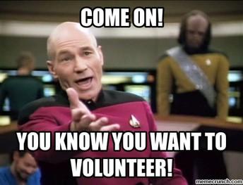 Volunteer oppertunities