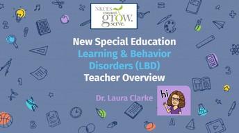 Special Education Teacher Training - LBD