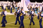 The Fort Mill High School Marching Band