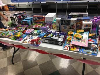 So many prizes!