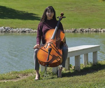 Music student on being a teacher, mentor through cello lessons