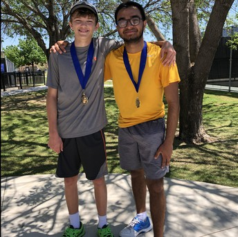 Austin and Lomash Win the Southlake Doubles CMZ