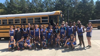 Carver MS Cross Country Team!