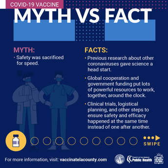 Myth: Safety was sacrificed for speed