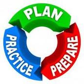 Plan, Prepare and Practice