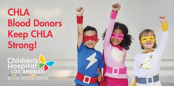 CHLA Blood Drive by Vista PTA - Sign up Now!