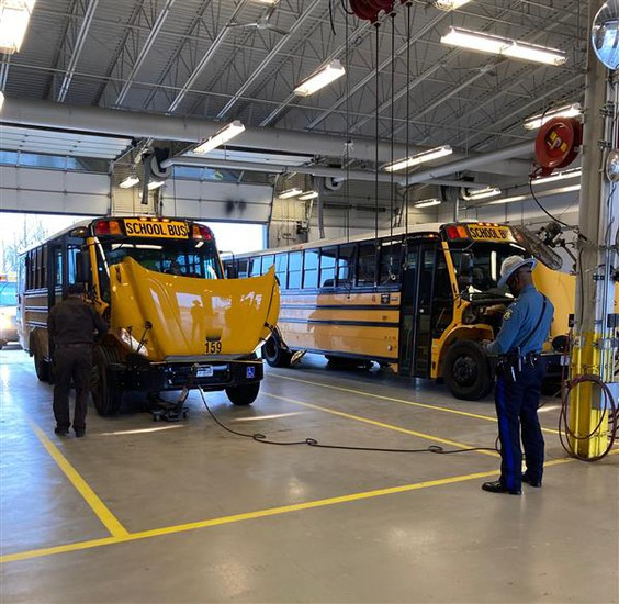 Bus Fleet Qualifies for Excellence Award