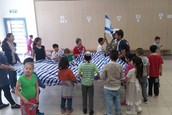 חגיגות יום העצמאות בשכבה הצעירה
