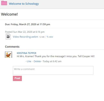 Welcome To Schoology