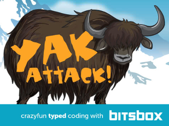 Yak Attack! Make a Card with Typed Code