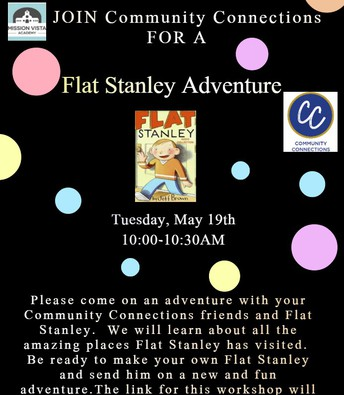 VIRTUAL Community Connections Flat Stanley Adventure
