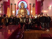 Visit to Buddist Temple in NYC
