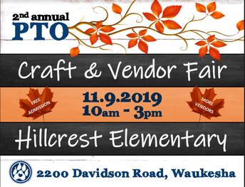 PTO - Craft & Vendor Fair