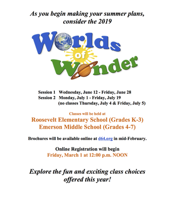 Worlds of Wonder 2019