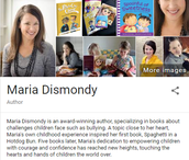 Author Visit:  Maria Dismondy  March 20th