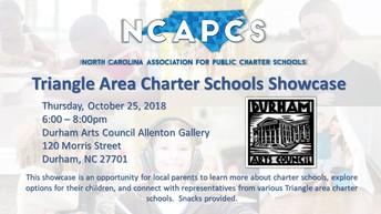 Triangle Area Charter School Showcase