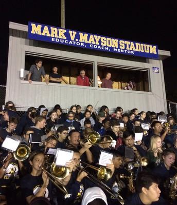 Lower Moreland Pep Band in Action