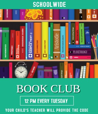 WEEKLY BOOK CLUB