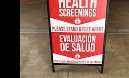 Health Screening Checkpoint