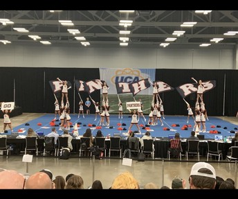 Cheer Competes at Regionals