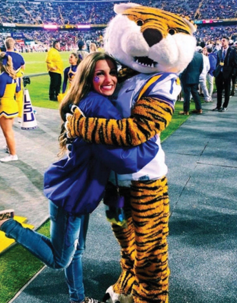 COURTNEY HAHN (SHS CLASS OF 2020) EARNS SPOT ON LSU CHEERLEADING SQUAD