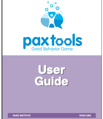 PAX Tools App:  Shared Vision
