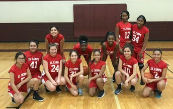 8th Girls Basketball Team wins District Title