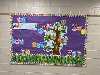 Welcoming Bulletin Boards!